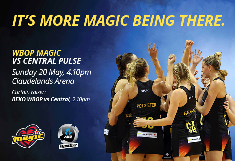ANZ Premiership - WBOP Magic vs Central Pulse